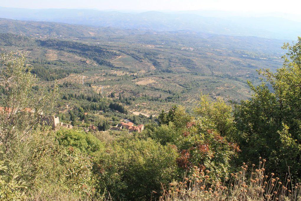visite du site et vue panoramique ...;