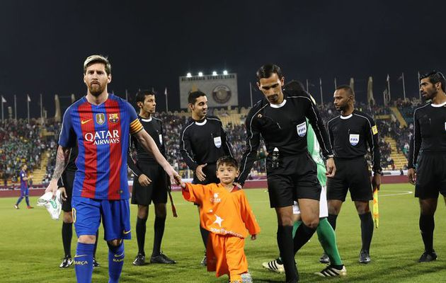 INSPIRATIONAL || How Six-Year-Old Afghan Boy Murtaza Ahmadi Finally Met His 'Hero' Lionel Messi