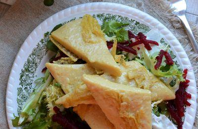 Panisse rôtie - végétarien