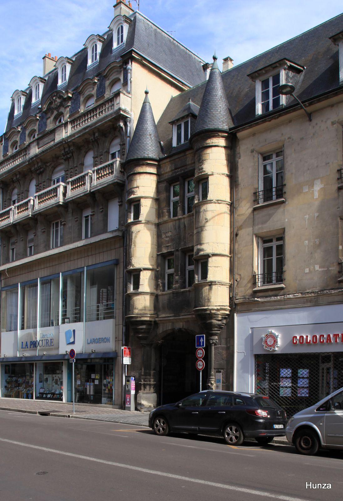 Reims, porte du Chapitre
