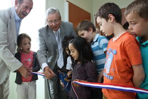 INAUGURATION EXTENSION PERISCOLAIRE ECOLE LANGEVIN