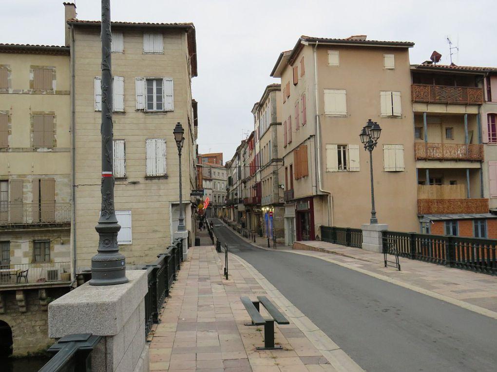 Ville aux portes du parc naturel du Haut-Languedoc