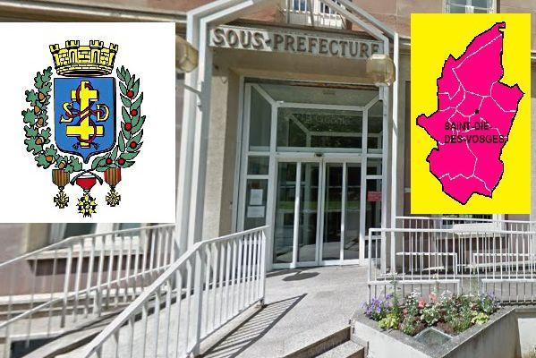 Saint-Dié-des-Vosges:  Carole Dabrigeon sous-Préfète prend officiellement ses fonctions