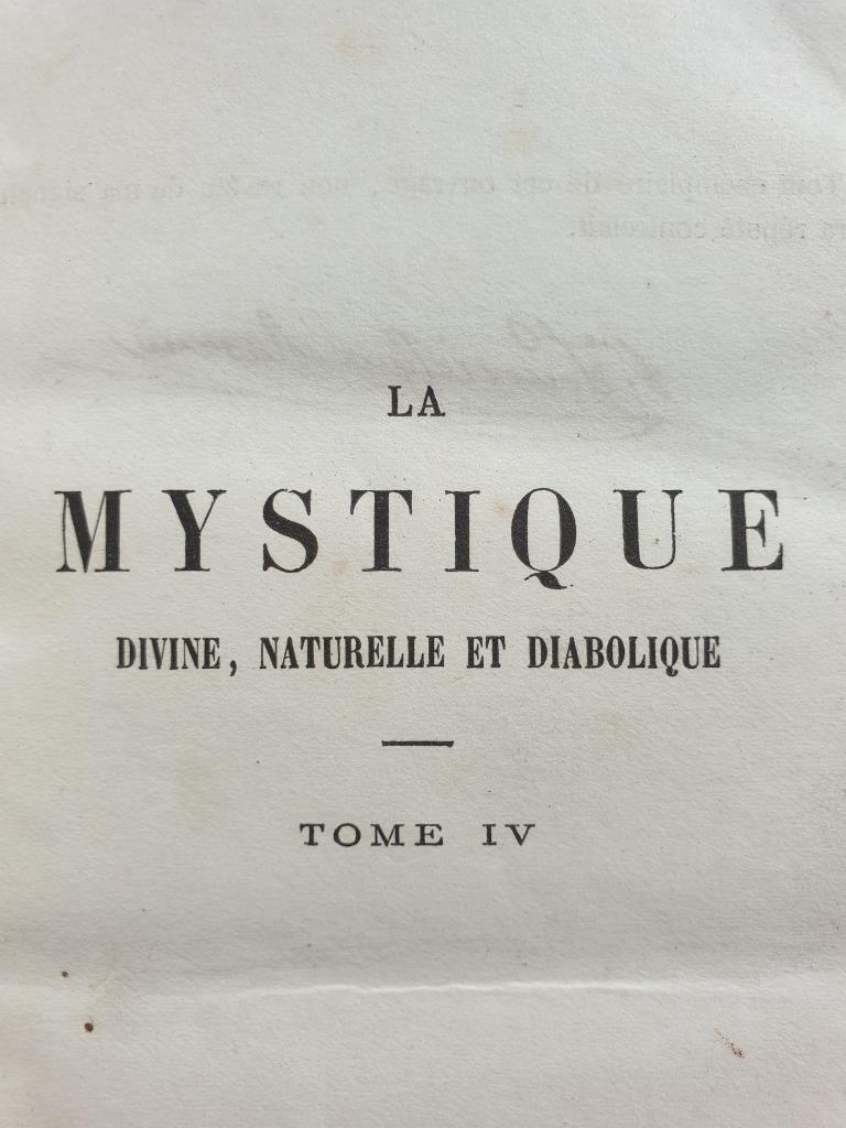 La Mystique Diabolique, Görres, tome IV de 1862 -  30 euros