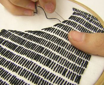 Shadow embroidery ,,