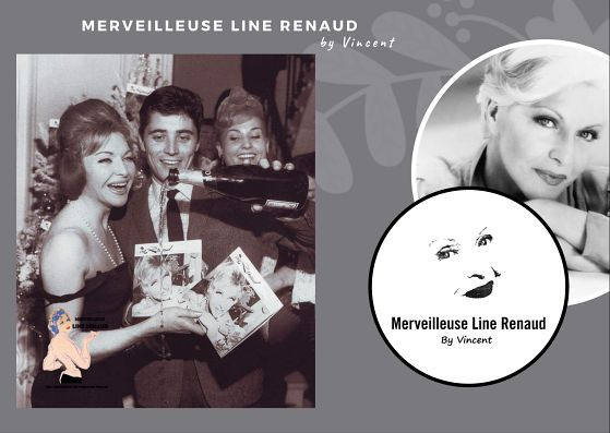 PHOTOS: Line Renaud et Sacha Distel