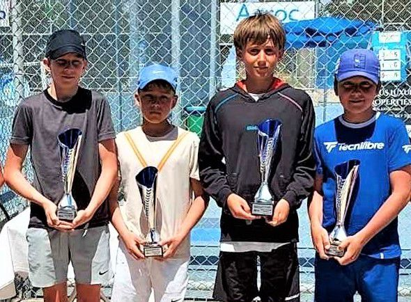Victoire de Louis Henriet en double Tournoi Tennis Europe à Chypre !