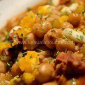 Potage Epicé de Pois Chiche au Chorizo