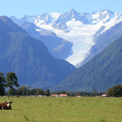 terrific sceneries ... from Fox-Glacier to Queenstown
