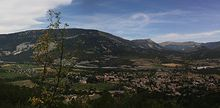 St Andre les Alpes parorama virtuel
