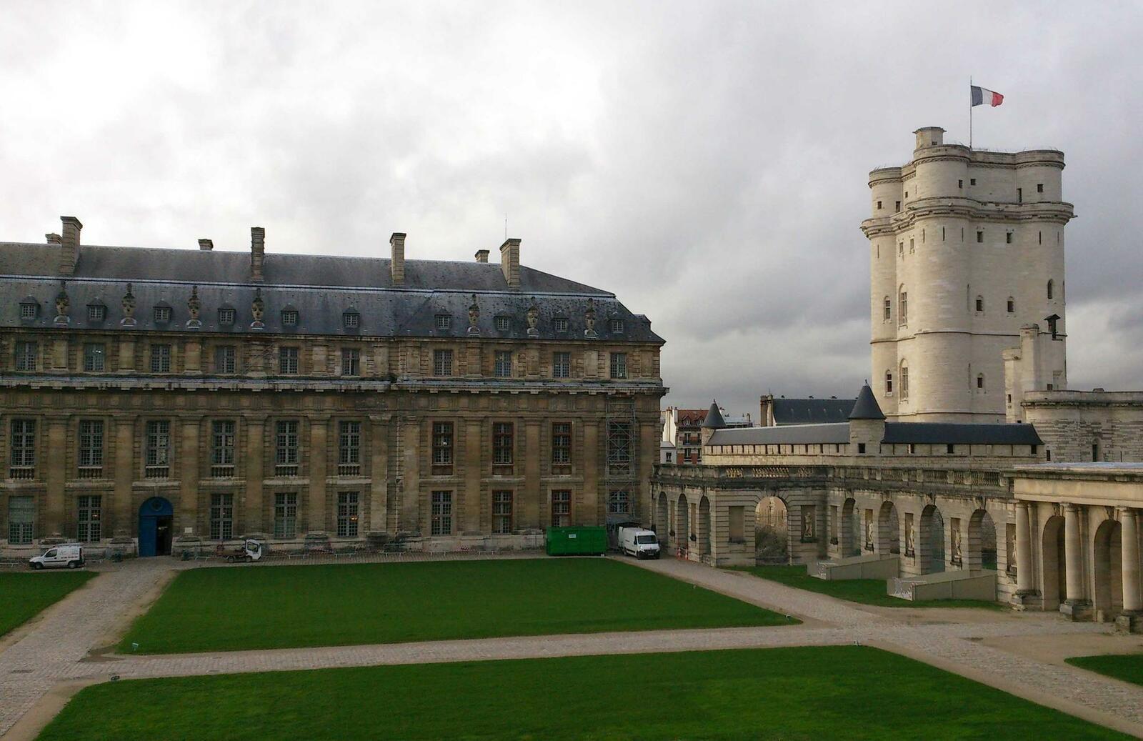 Le Service Historique de la Défense (SHD) à Vincennes.