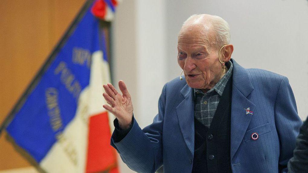 Jean Manchette lors d'une intervention publique le 31 janvier 2020 à Tronville-en-Barrois (Meuse) / © Lodoïs Gravel - France 3 Lorraine