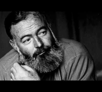 Coup de coeur... Ernest Hemingway...