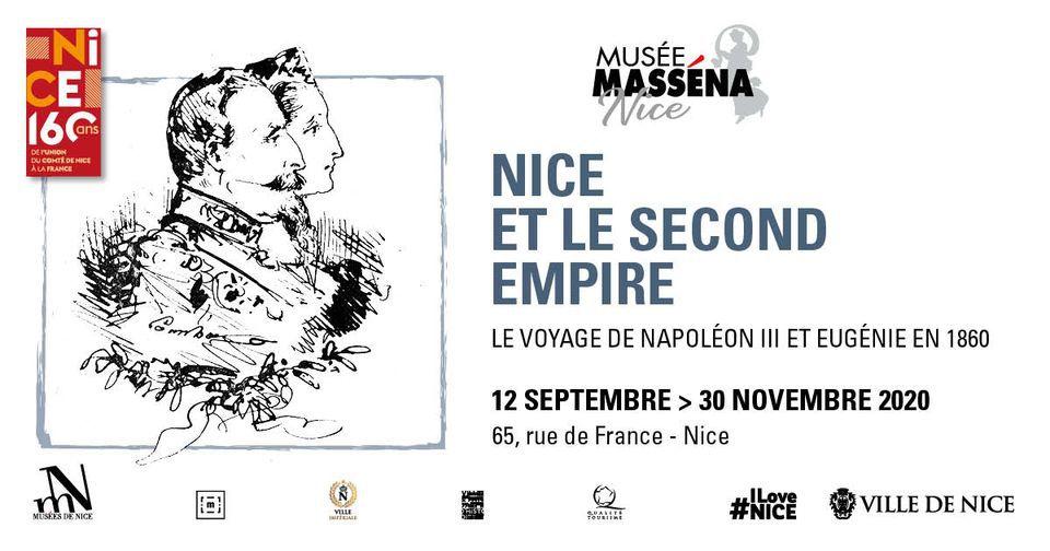 Le voyage de Napoléon III et Eugénie en 1860
