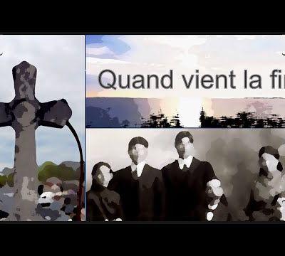 """Mon poème """"Quand vient la fin"""" sur la chaîne YouTube """"Pages d'Histoire"""" !"""