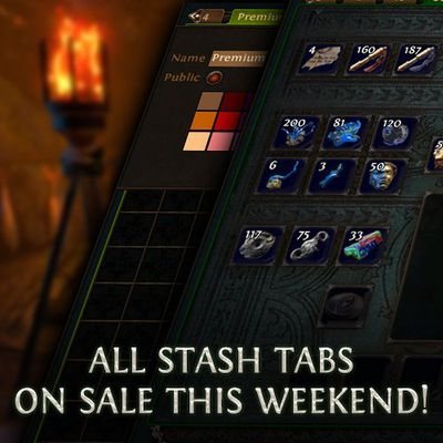 Path Of Exile Is Doing Super Stash Sale