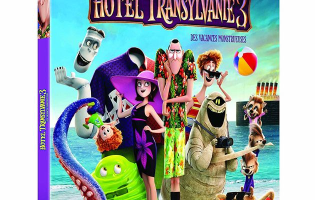 [REVUE CINEMA BLU-RAY] HOTEL TRANSYLVANIE 3