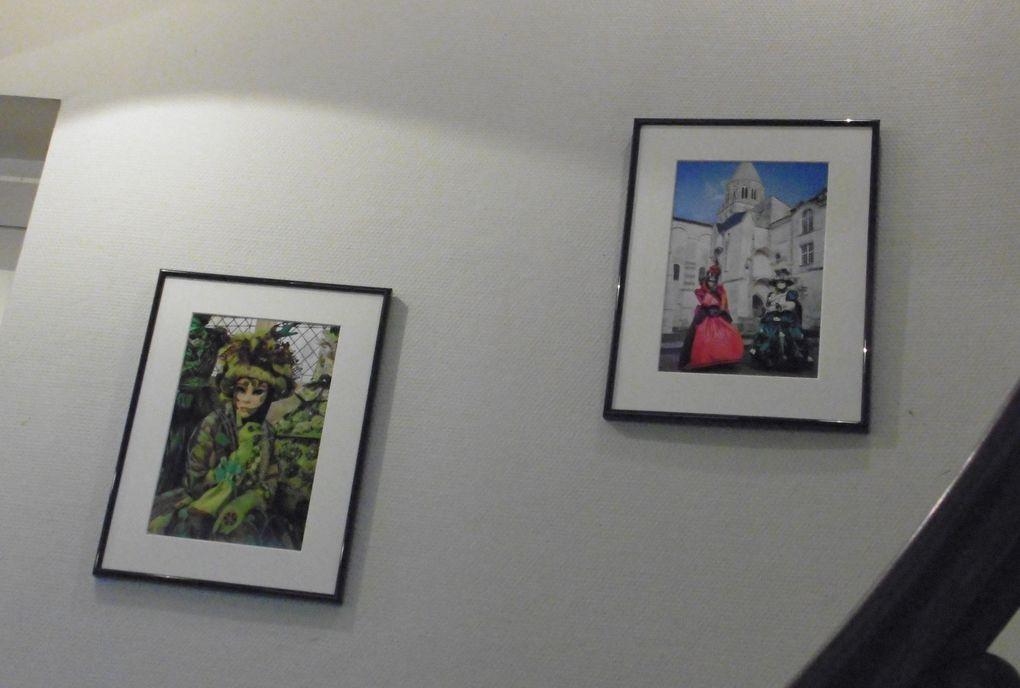 """Félicitations aux organisateurs (Photo Club SNCF & DATELIERS° de cette belle exposition et merci à l'aubergiste """" Gabriel de la Musardière """". On se quitte provisoirement via une peinture aux """" relents """" de magie et du mystère de la """" Sérénissime """"."""