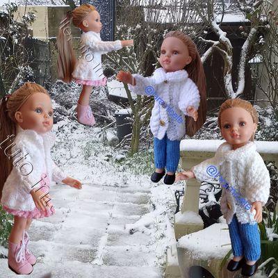 tutos gratuits poupées : manteaux