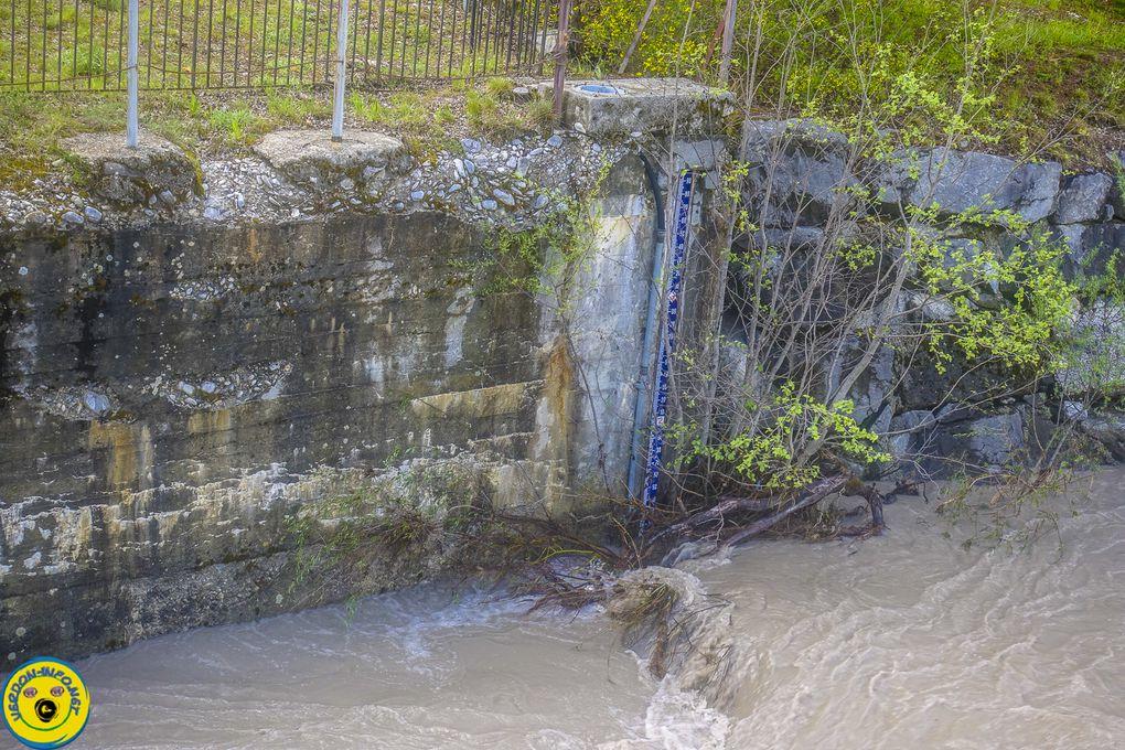 photos pont de Méouilles le 11 mai 2021