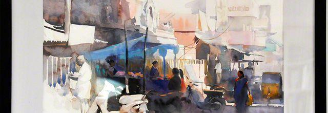 Abel Antonysamy - recognized painter artist