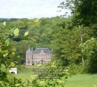 Les châteaux du PNR du Vexin français