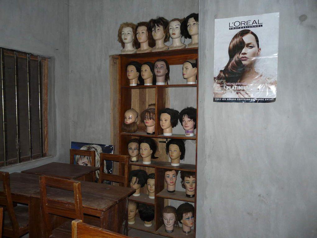 L'école de coiffure à Lokossa