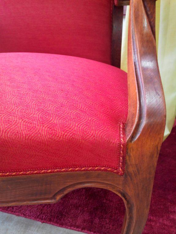 réfection fauteuil ARABESQUE thiers