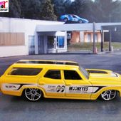 CHEVROLET CHEVELLE SS WAGON 1970 HOT WHEELS 1/64 - car-collector.net