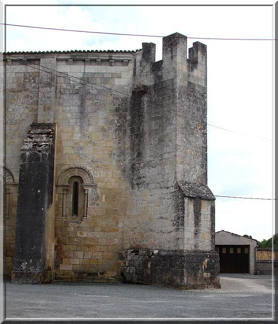 Diaporama église fortifiée Authon-Ebeon