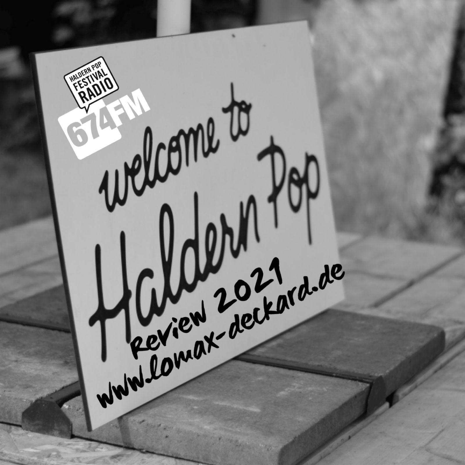 Haldern Pop 2021 – Review von Alan Lomax