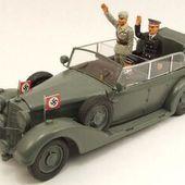 Mercedes 770K W150 de la Wehrmacht au 1/43 (Rio) -