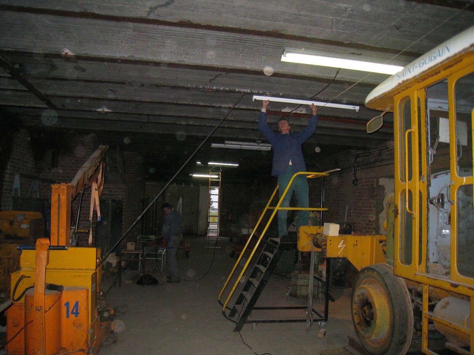 C'était comment le sous-sol du Centre avant la prise en mains par l'équipe des bénévoles ?