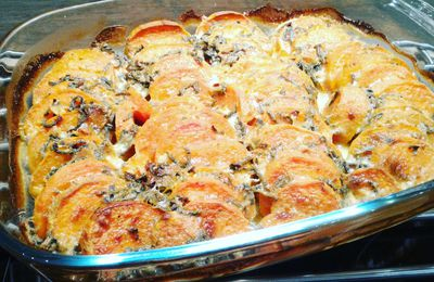GRATIN DE PATATES DOUCES DE DANIELLE - OTTOLENGHI - THE COOKBOOK