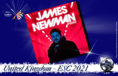 United Kingdom 2021 - James Newman (Embers)
