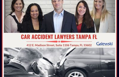 HOW TAMPA, FL CAR ACCIDENT LAWYERS WORK