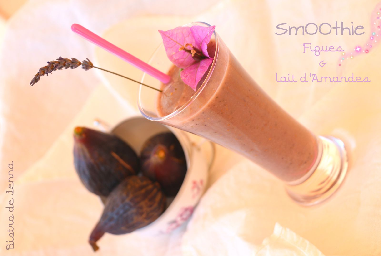 SmOOthie Figues & Lait d'Amande