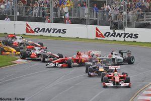 Qantas reste le sponsor-titre du Grand-Prix d'Australie