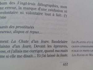 """""""Les plaintes d'un Icare"""" et """"La Chute d'un Icare"""""""