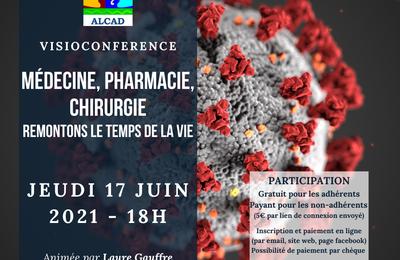 Webconférence - Médecine, pharmacie, chirurgie : remontons le temps de la vie