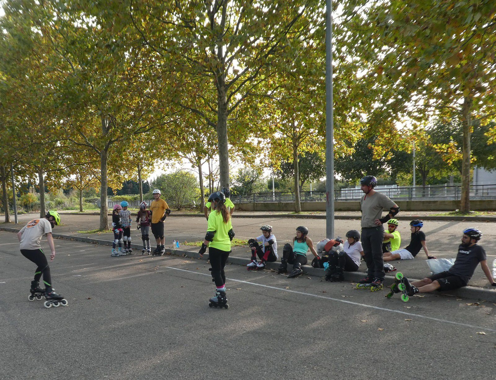 Roller Lib, club sport, nimes, stage, activité plein air, course, vitesse,