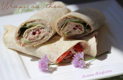 Wraps au thon pour un repas champêtre