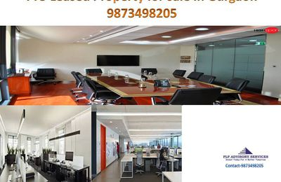 Pre Leased Office space for sale on Golf course road Gurgaon:9873498205