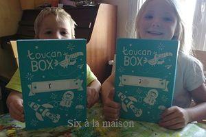 ToucanBox : une box créative enfant avec pleins d'idées originales!