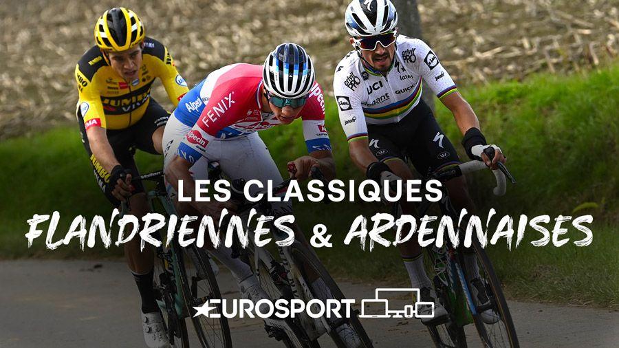 L'intégralité des Classiques Flandriennes et Ardennaises en direct sur Eurosport