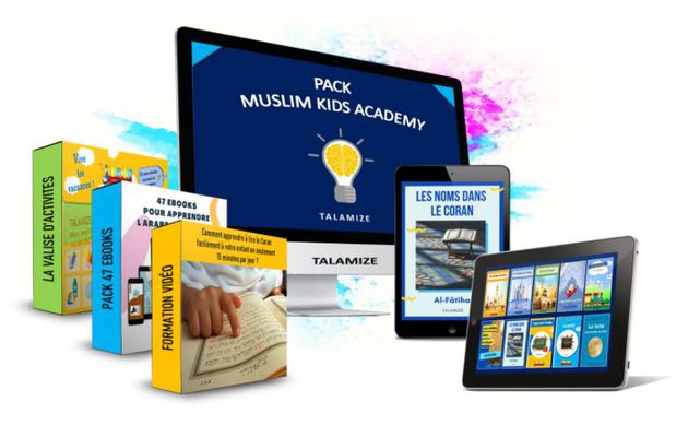Grosse promo sur le pack Muslim Kids Academy ! [ -90% !]