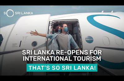 SRIL LANKA re-opened its borders to international tourism