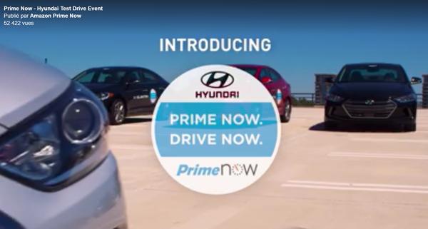 Amazon Drive Now : l'essai de voitures directement à votre domicile.