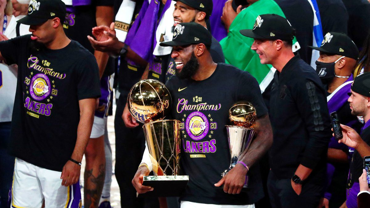LeBron James croit à un back-to-back des Lakers