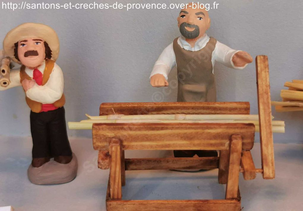 La foire aux santons de Roquebrune sur Argens, un réel succès